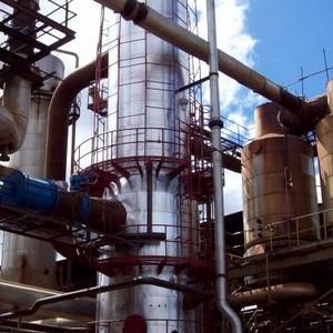 Montagem de estruturas metálicas industriais