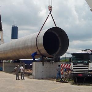 Fabricação e montagem de estruturas metálicas