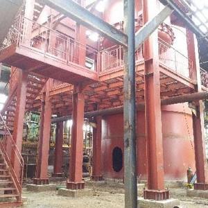 Montagem de estruturas metálicas